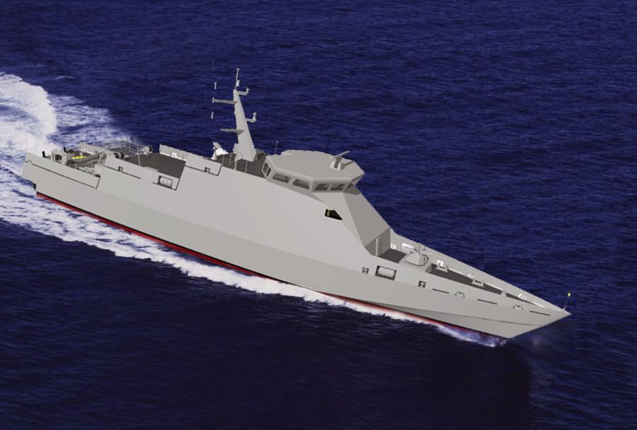 Koncept minolovca za Indijsko mornarico