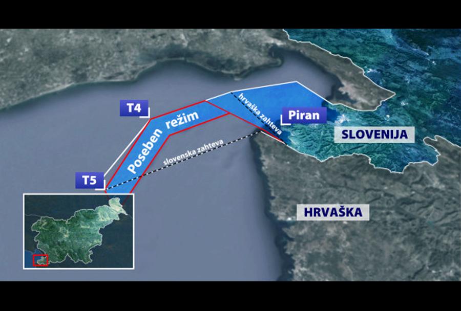 Piranski zaliv - mejni spor