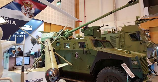 Srbska obrambna industrija