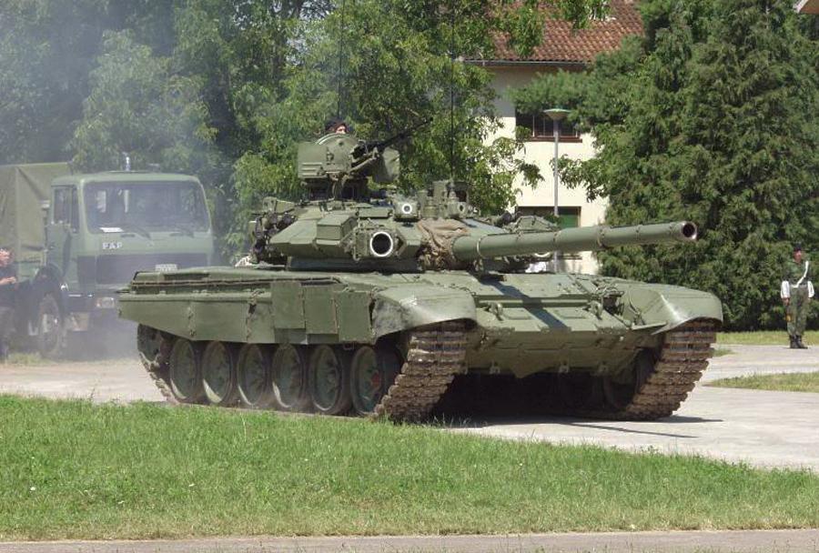 Srbski (nadgrajeni) tank M-84AS