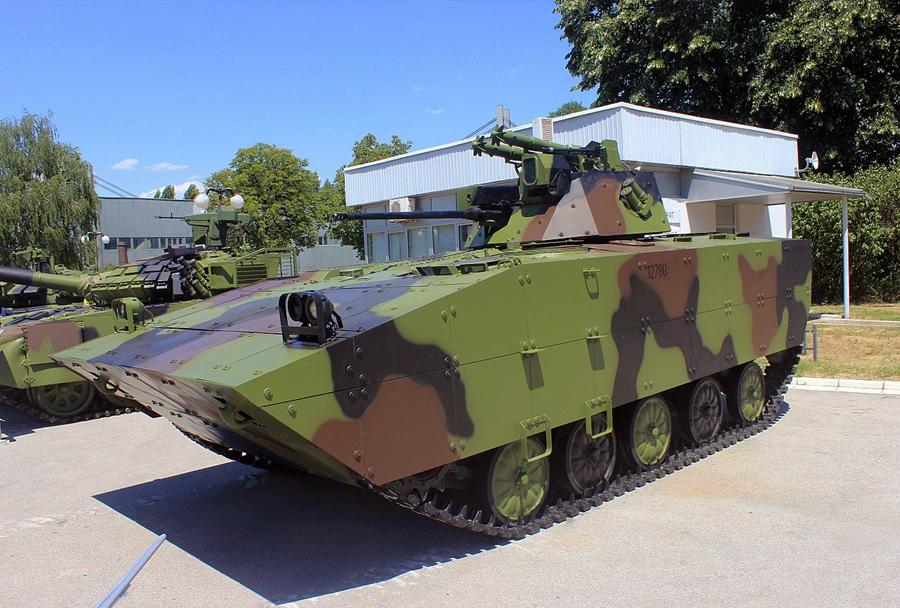 Srbsko (nadgrajeno) oklepno vozilo BVP M-80AB1