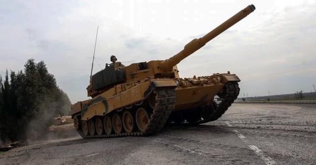 Turški tank leopard 2