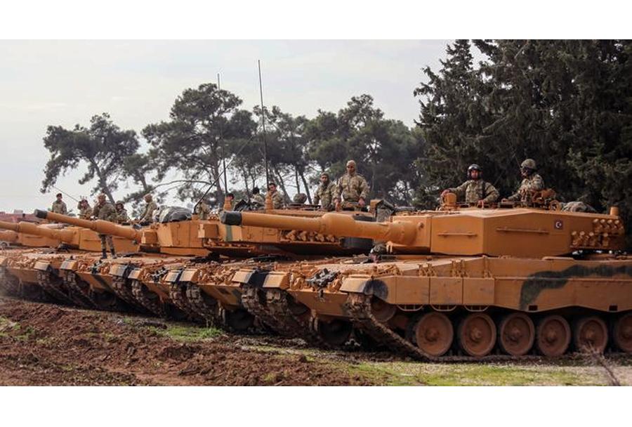 Turški tanki leopard 2