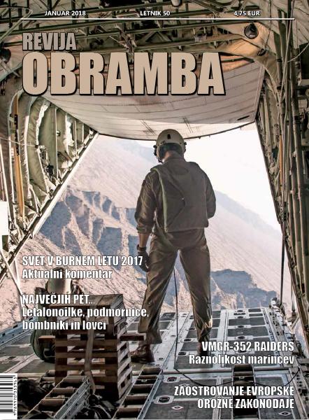 Revija OBRAMBA, januar 2018