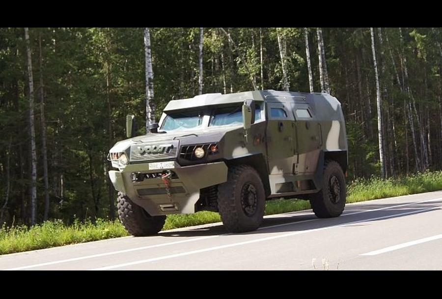 Belorusko oklepno vozilo MZKT V-1
