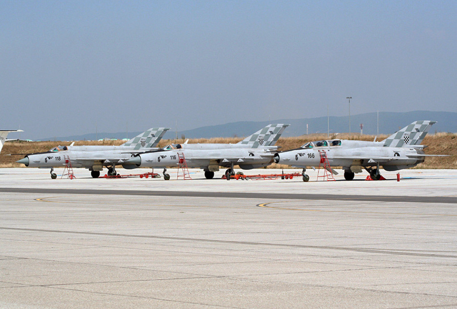 Hrvaški lovci MiG-21