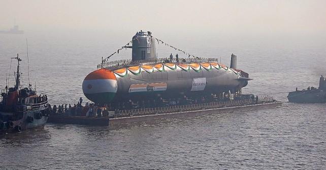 Indijska podmornica INS Karanja razreda kalvari