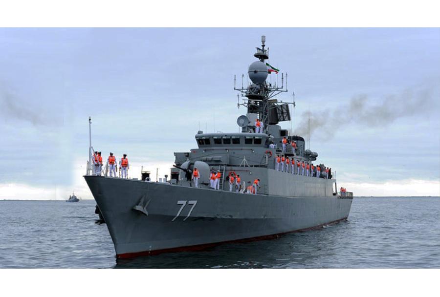 Iranska fregata Damavand
