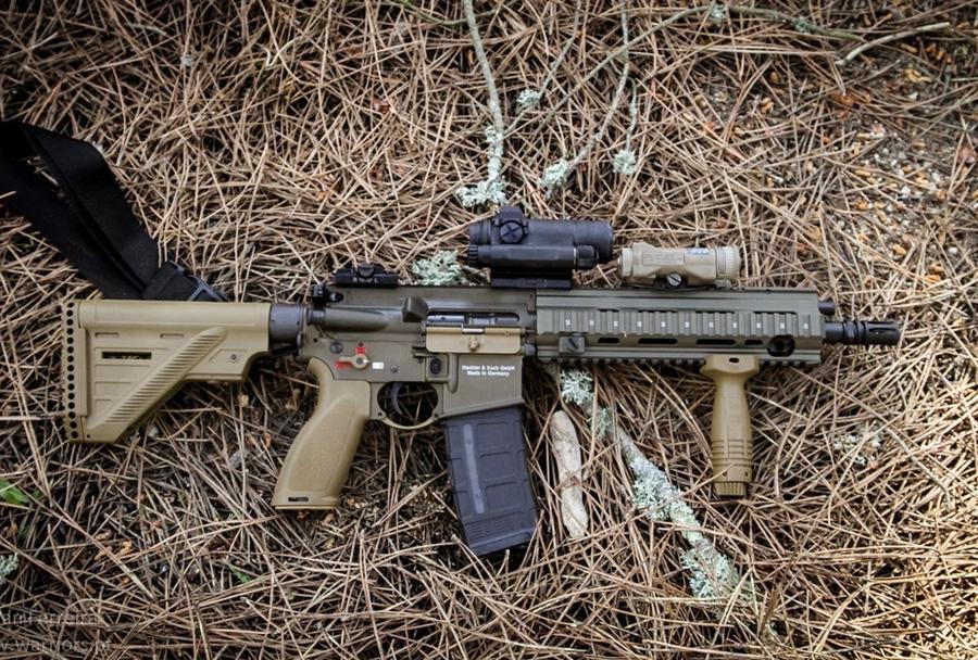 Jurišna puška HK416A5