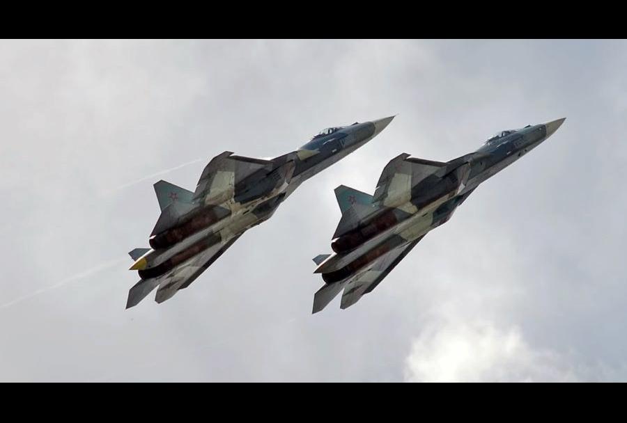 Lovca Suhoj Su-57 PAK-FA