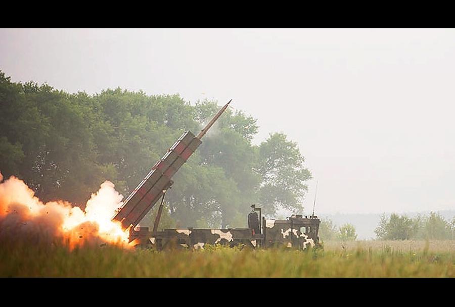 Beloruski raketni sistem polonez-M
