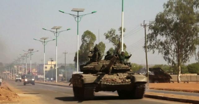 Sudanski tank