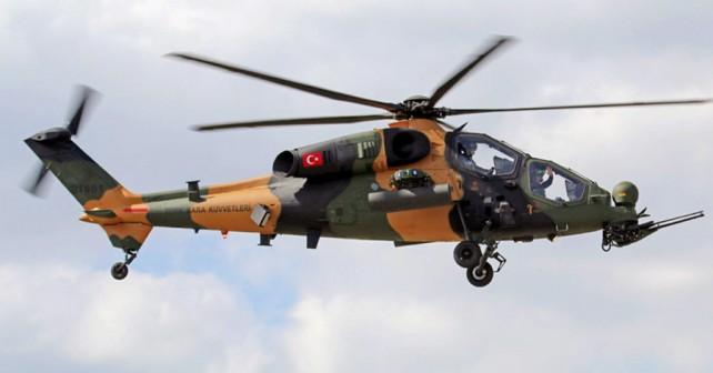 Turški jurišni helikopter T129 ATAK