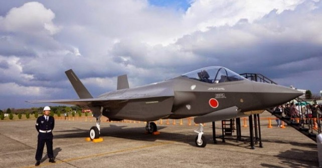 Japonski lovec F-35A