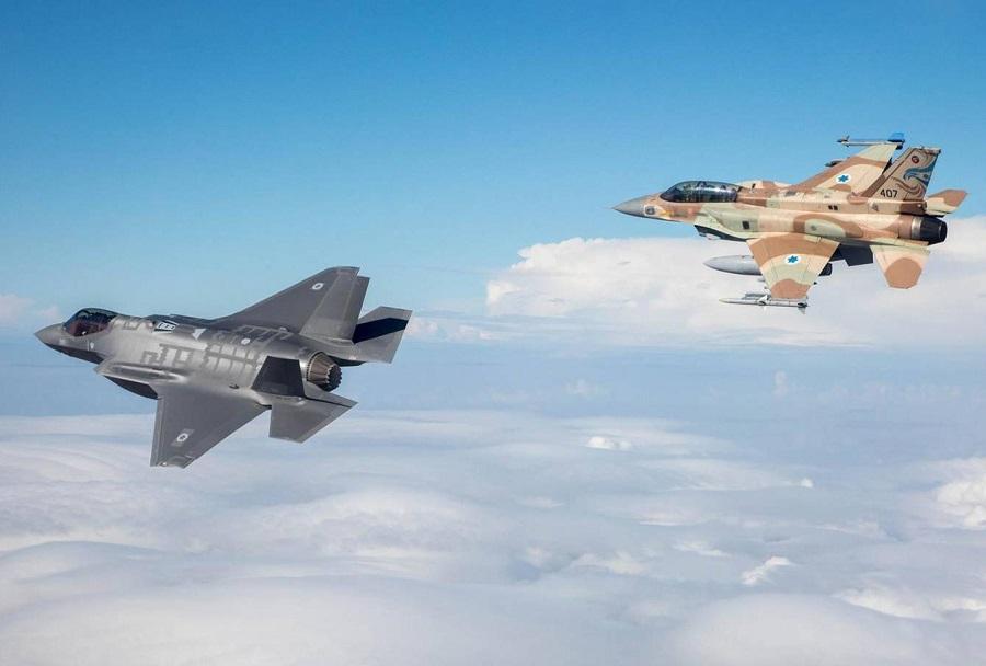 Izraelska lovca F-35I in F-16I