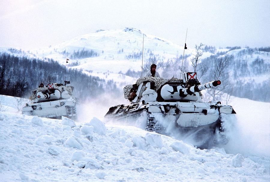 Norveška tanka leopard 1