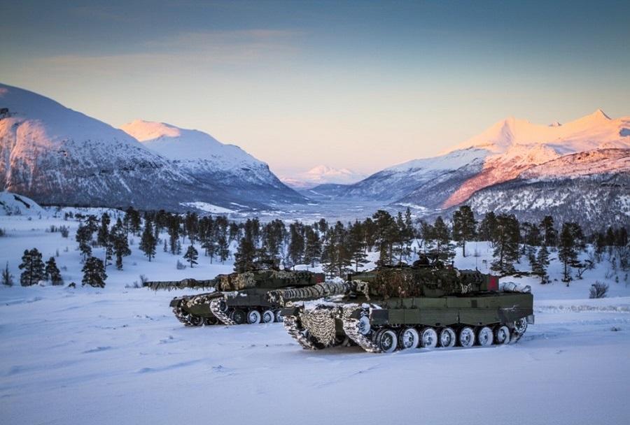 Norveška tanka leopard 2
