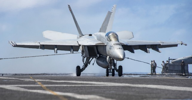 Palubni lovec F/A-18 hornet