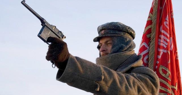 Rus s pištolo