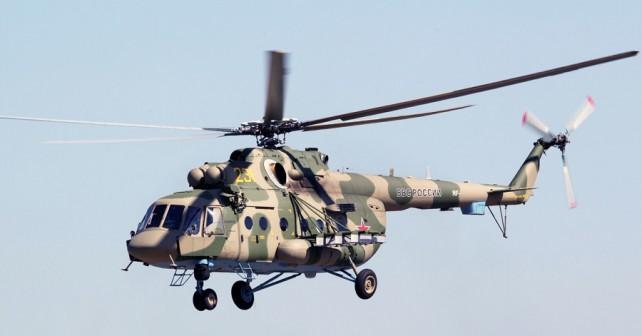 Ruski vojaški helikopter Mi-8