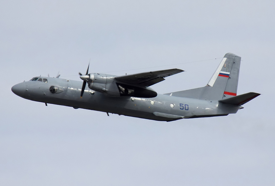 Rusko vojaško transportno letalo An-26