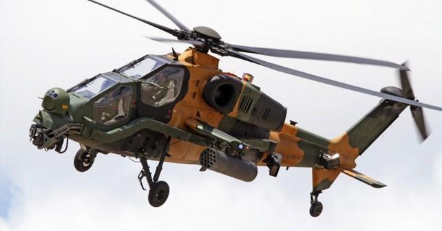 Turški jurišni helikopter T129