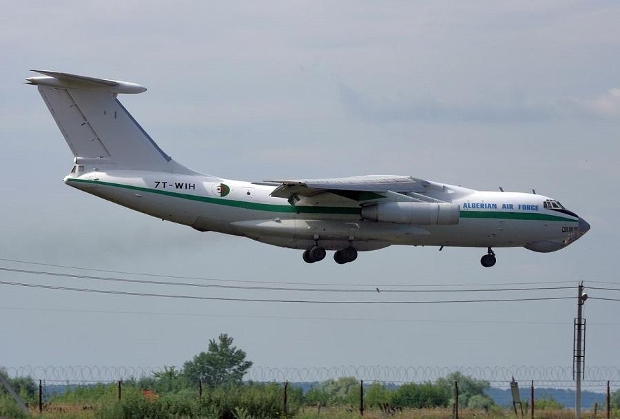 Alžirsko letalo Iljušin Il-76