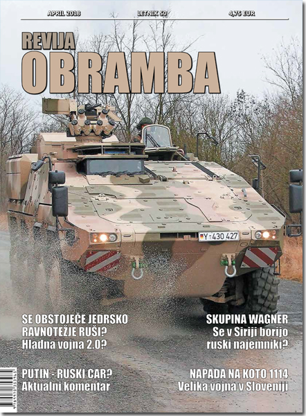 Revija Obramba, april 2018
