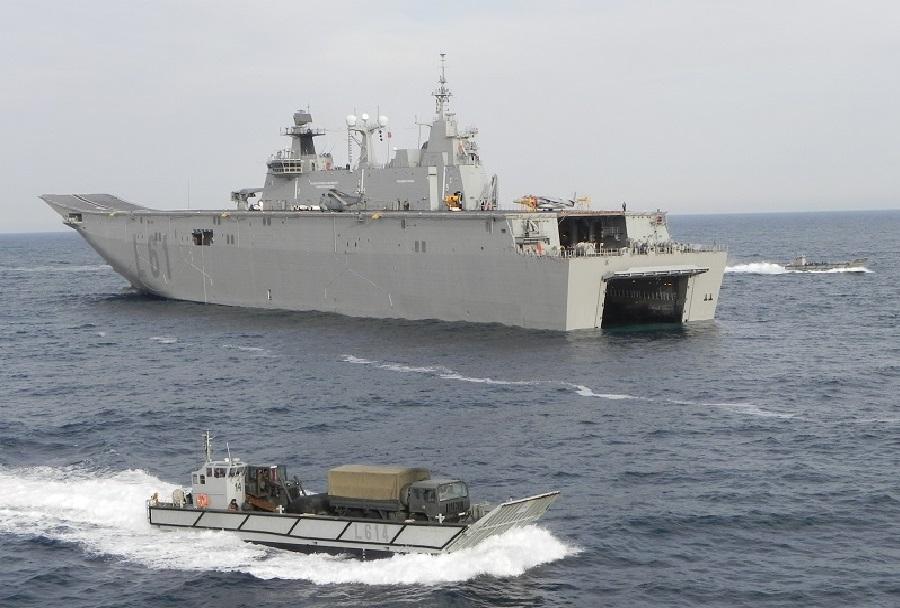 Španska amfibijsko-desantna ladja Juan Carlos I.