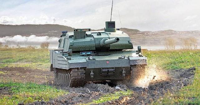 Turški tank altay