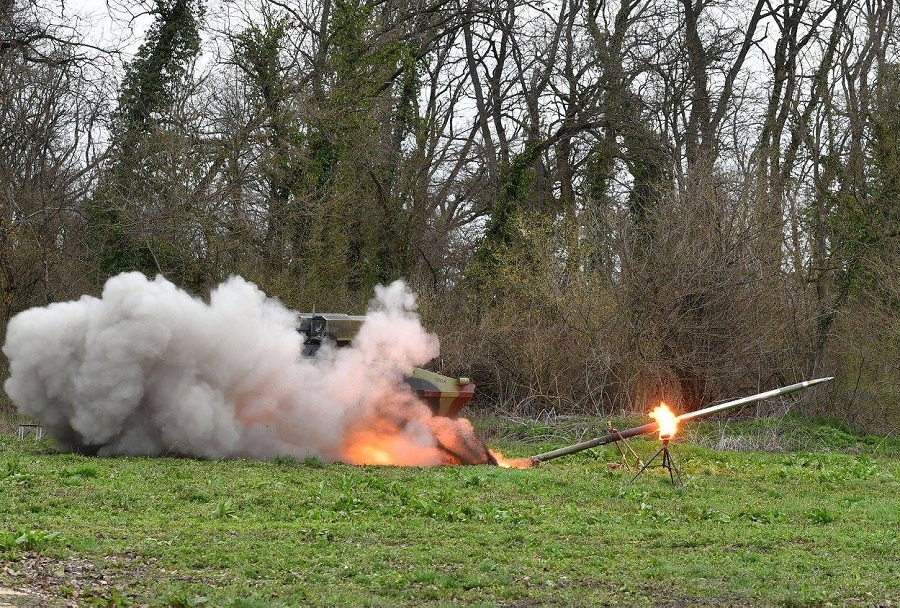 Vojska Srbije - testiranje nove oborožitve