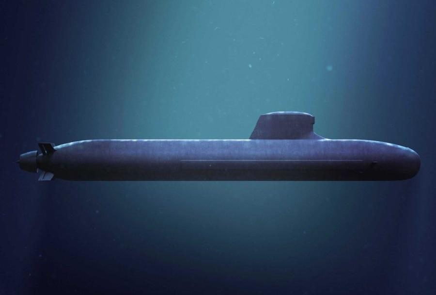 Francoska podmornica razreda barracuda - koncept