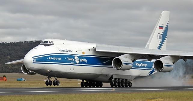 Volga-Dnepr - transportno letalo Antonov An-124 ruslan