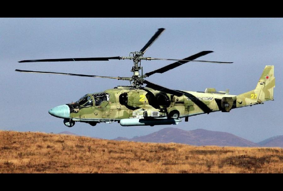 Ruski bojni helikopter Ka-52