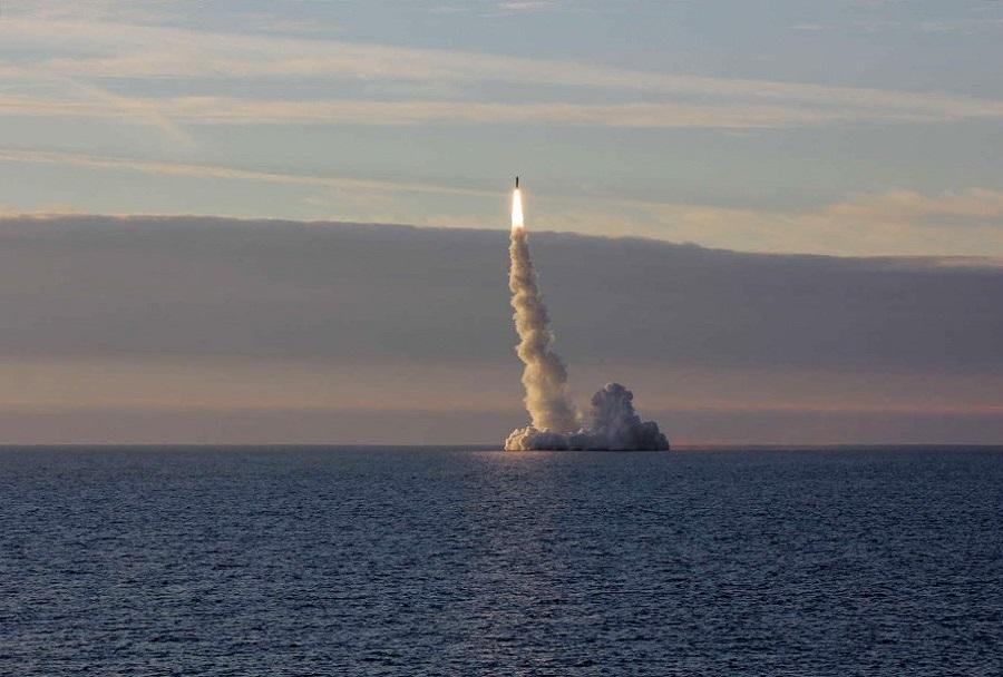 Izstrelitev rakete bulava