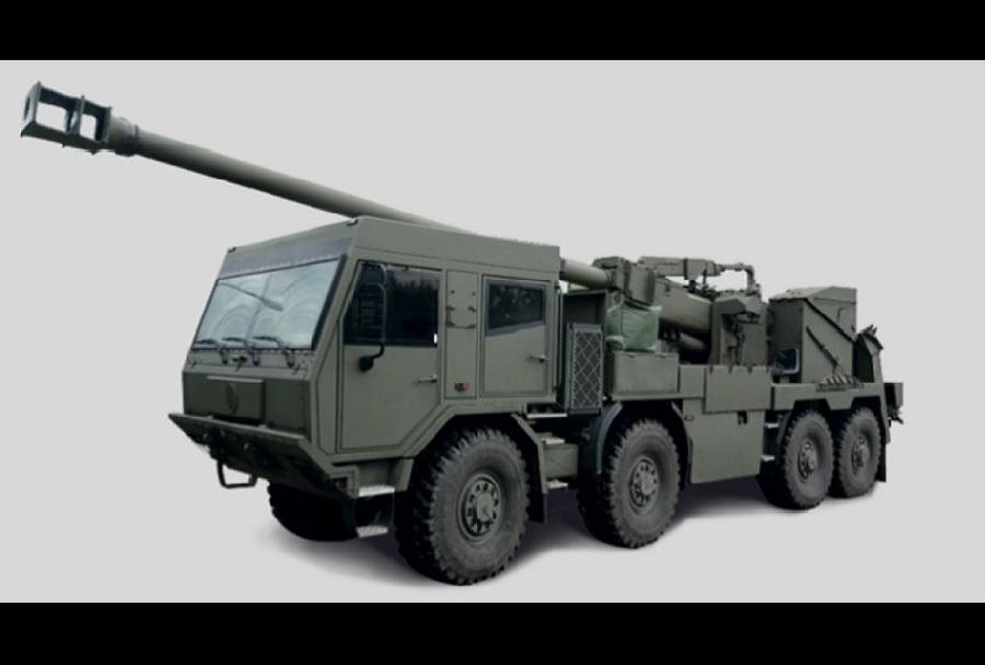 Samovozna havbica TMG EVA 8x8 155 mm