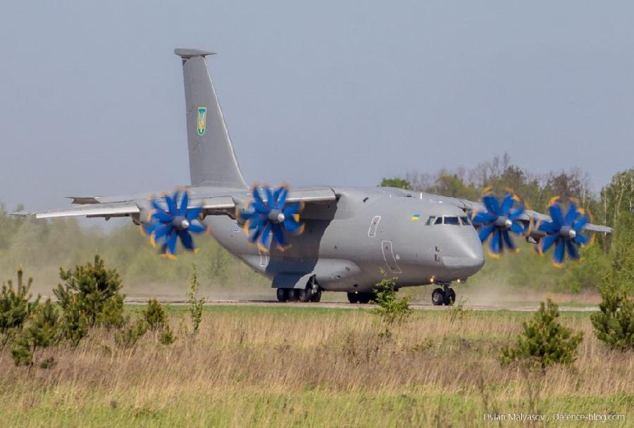 Transportno vojaško letalo An-77