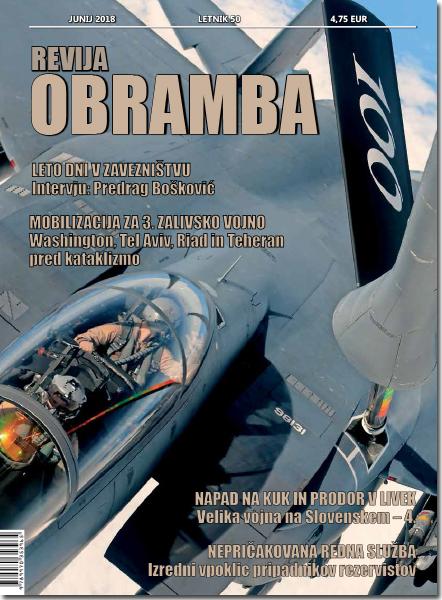 Revija OBRAMBA, junij 2018