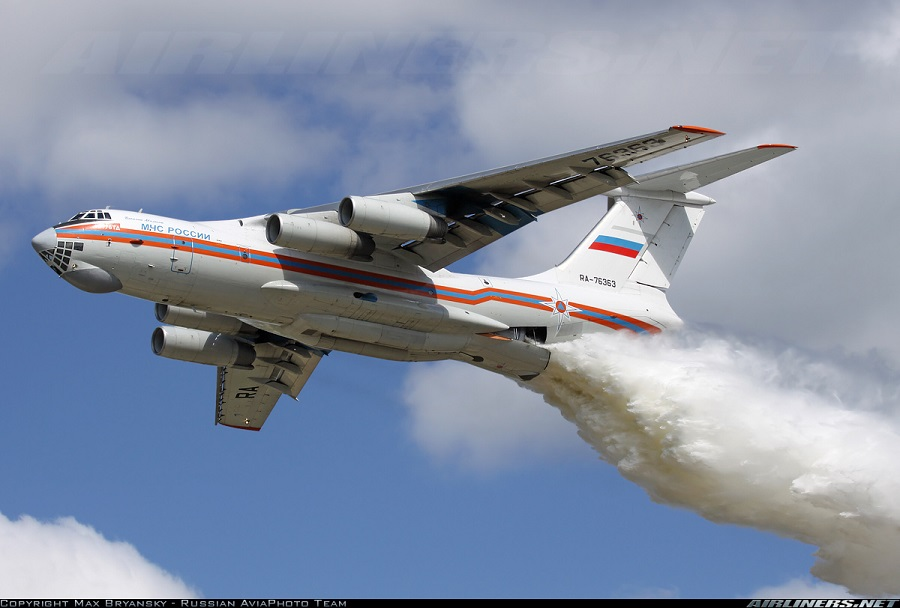 Rusko letalo za gašenje Il-76TDP