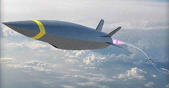 Nadzvočna raketa HCSW - koncept