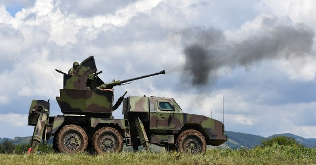 Srbski protiletalski sistem PASARS-16 terminator - testiranje