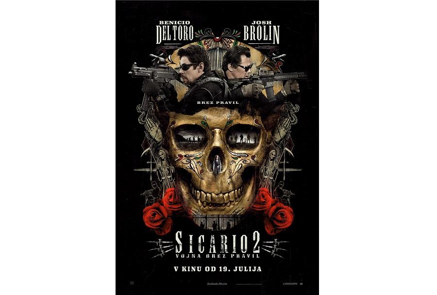 Plakat za film Sicario 2: Vojna brez pravil (2018)