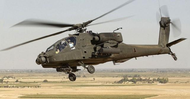 Helikopter AH-64 apache