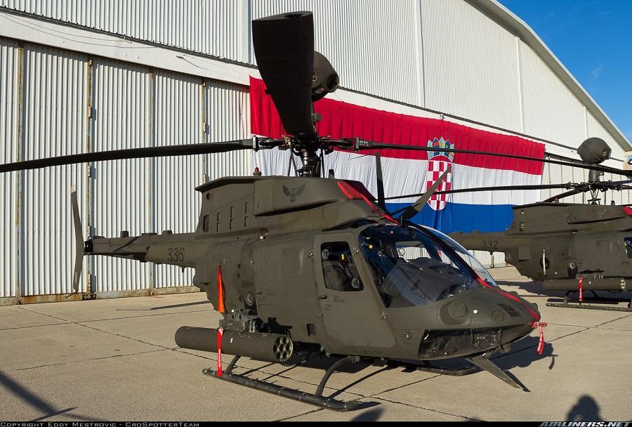 Hrvaški helikopter kiowa warrior