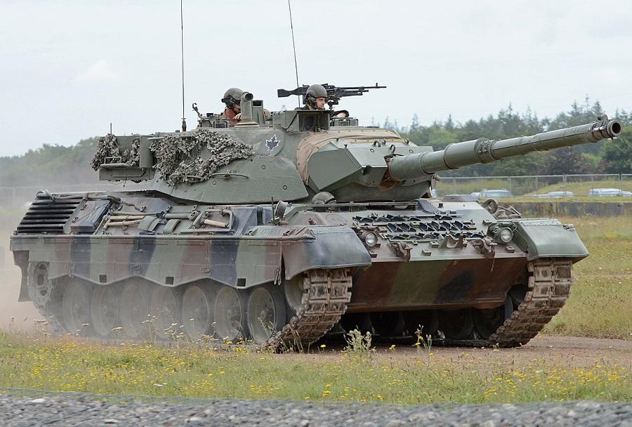 Kanadski tank leopard 1