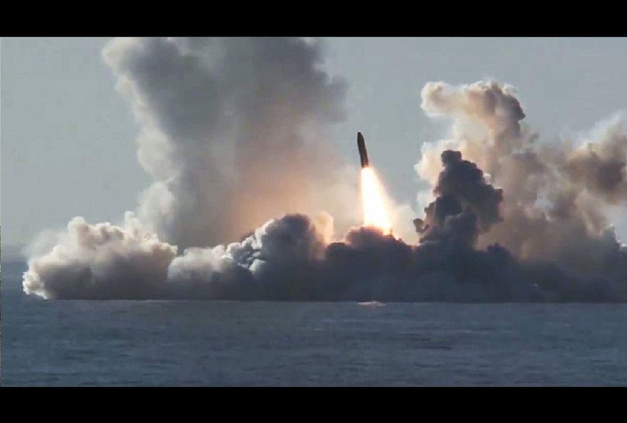 Izstrelitev medcelinske balistične rakete bulava