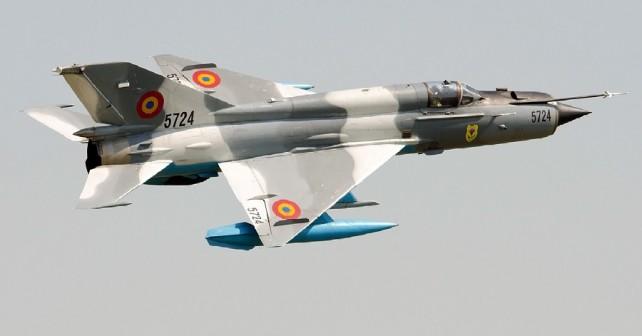 Romunski lovec MiG-21 lancer-C