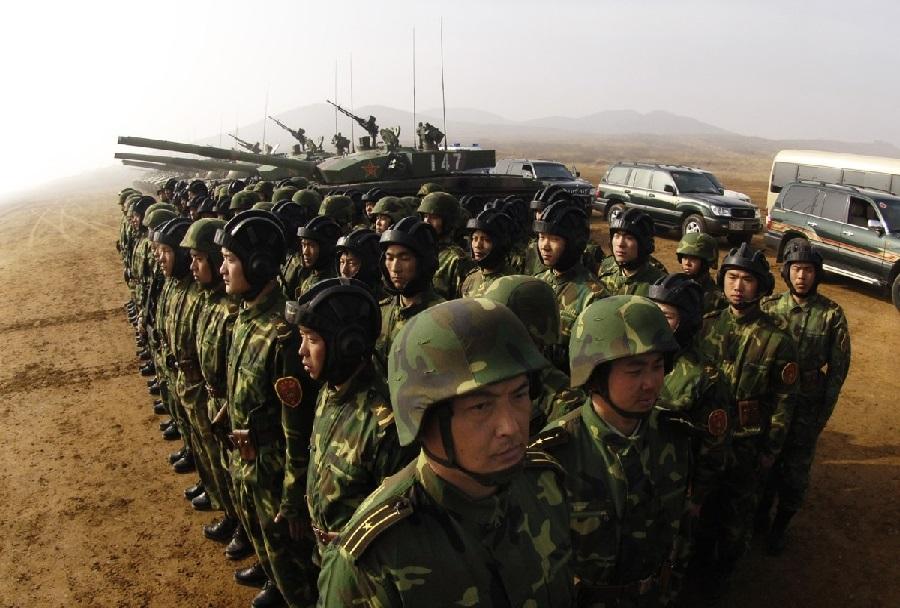 Kitajski vojaki v Afganistanu