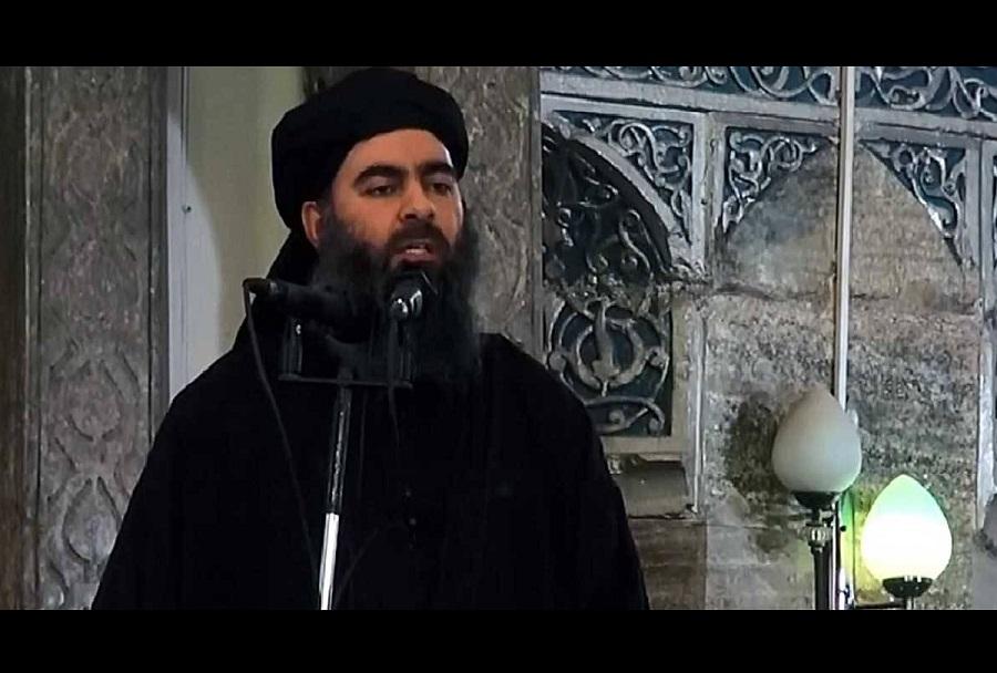 Vodja Islamske države (ISIS) al-Baghdadi