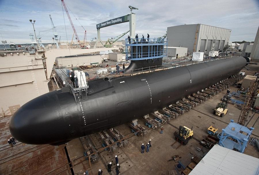 Gradnja podmornice razreda virginia